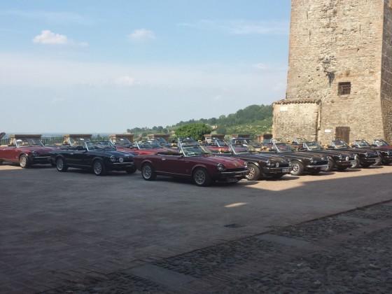 Spider Volumex Club , Int. Treffen in der Emilia Romagna (Bologna) Juni 2017