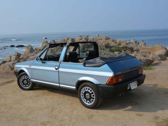 """Unterwegs mit dem Ritmo Cabrio am Pazifik in Monterey/Kalifornien. 2018 zur """"Monterey Car Week"""""""