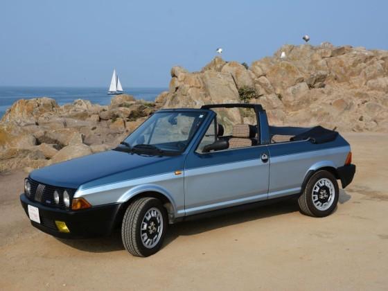 """Unterwegs mit dem Ritmo Cabrio am Pazifik in Monterey/Kalifornien. August 2018 zur """"Monterey Car Week""""."""