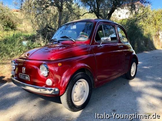 Fiat 500 aus Roma