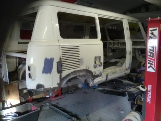 Fiat 900E Baujahr 1981, stand seit 1994 komplett zerlegt in einer Scheunej