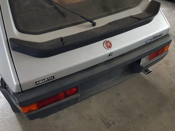 37 Jahre stillgelegt und erst 15.000 km ..... Fiat Ritmo 125TC Abarth 1983.