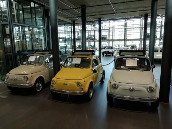 Fiat 500 Parade,Motorworld Köln