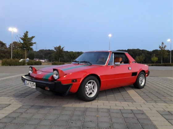Fiat X1/9 1980