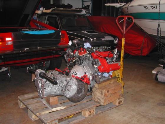 Maserati Merak Motor