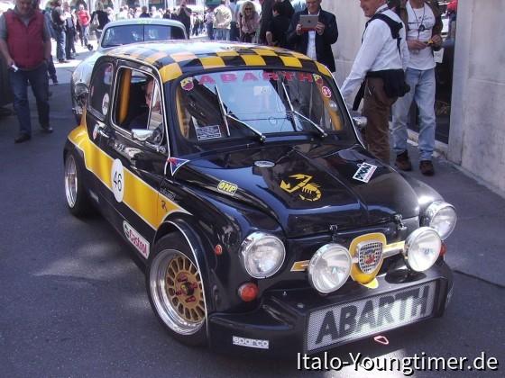 """Fiat """"ABARTH"""" Mille Miglia 2014 in Brescia"""