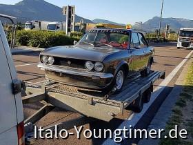 Fiat 124 Sport kurz vor dem Brenner