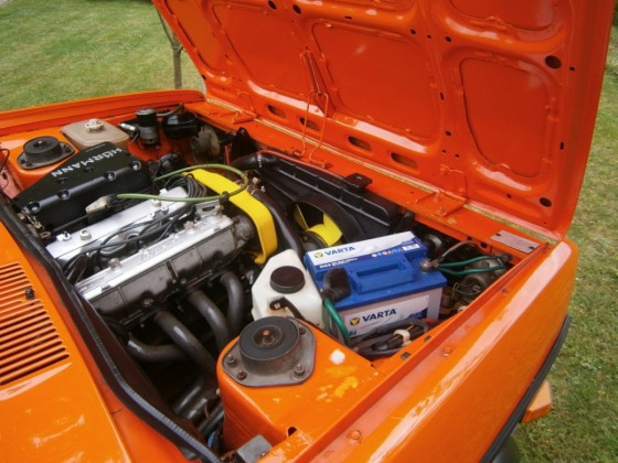 """Fiat 131 Sport Sondermodell Walter Röhrl """"Scheunenfund"""""""