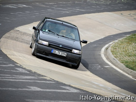 Fiat Tipo Nordschleife Karussel