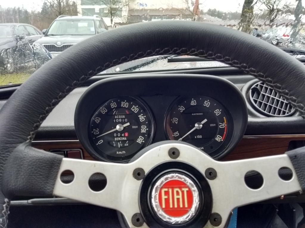 A112 Abarth Instrumente in meinem Fiat 127