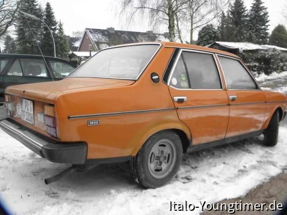 ein Fiat ist zum fahren da....auch im Winter