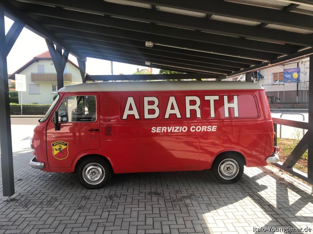 238 Abarth als Projekt Garage Francochamps