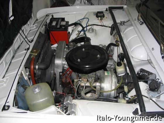 Mein 125N Motorraum