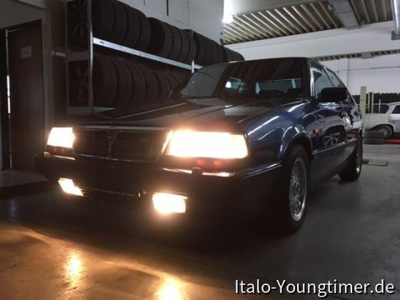 Lancia Thema Turbo 16V LX. Und nun mit neuem Motor! Und etwas schneller!