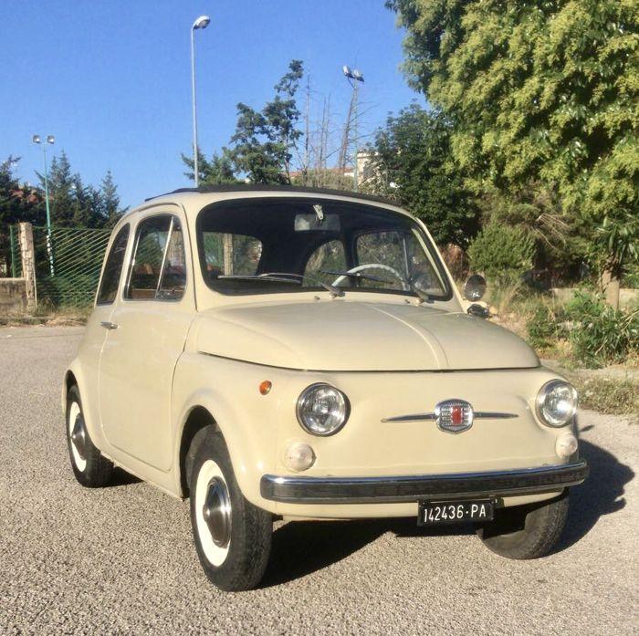 Fiat 500 aus Palermo