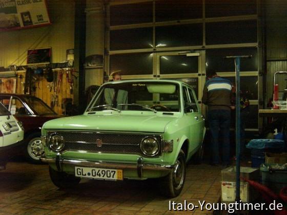 Fiat 128 beim Kauf in Erlangen (Vintage Voyage)