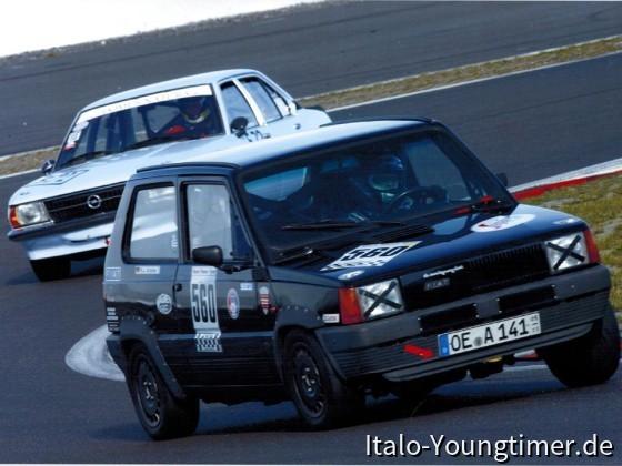 Saisonfinale Nürburgring. Die faule, rechte Antriebswelle arbeitet mal wieder ein bißchen!