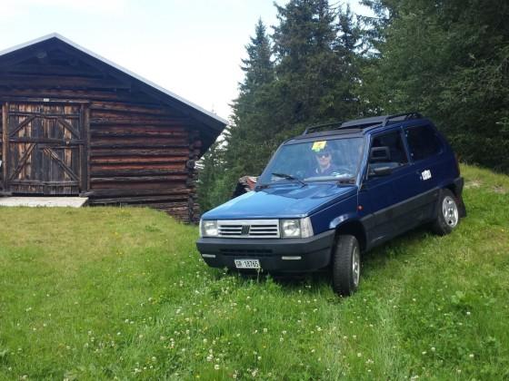 Sommer in den Bündner-Bergen und das mit offenem Dach!