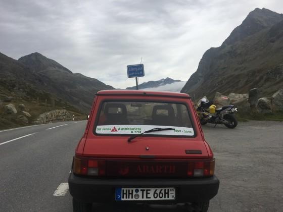 ein Flachländer in den Alpen!
