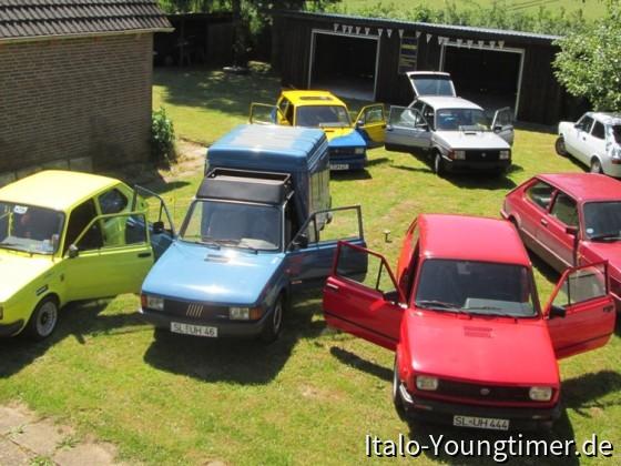 Fiat 127 - Großwaschtag bei Uwe