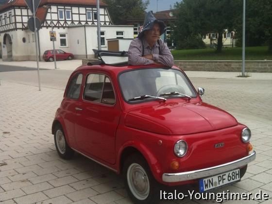 Fiat 500 F 1968