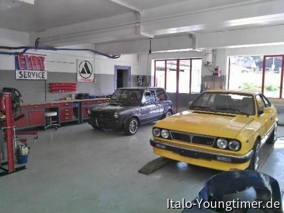 Neue Garage bezogen
