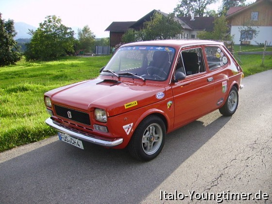 Mein Fiat 127