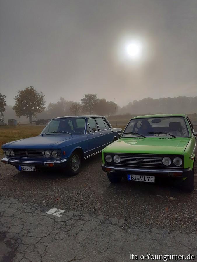 Sonntag 6.10 beim Treffen des Fiat-Raritäten Club in Goslar