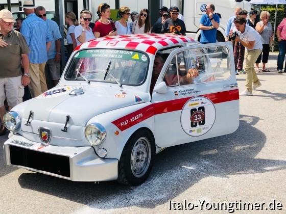 Schloss Dyck Classic Days 2019, pre-grid zum Rundkurs