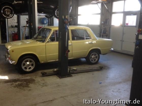 Mein Fiat 124 Limousine 1,2 65 PS