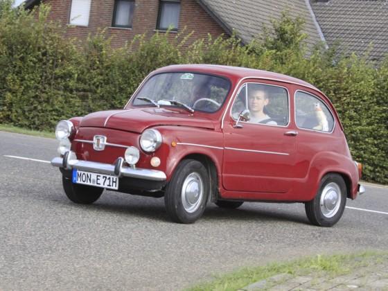 Seat 600 aber eigentlich für Fiat gebaut von 1971