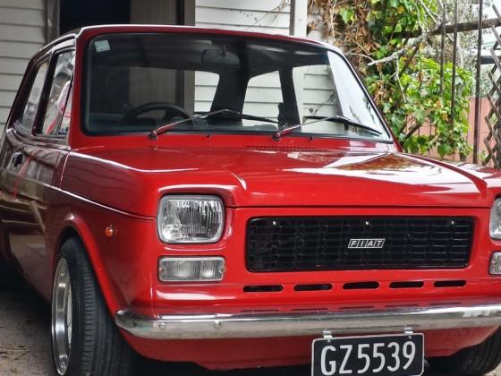 SIMON J's FIAT 127 AUCKLAND - NEW ZEALAND
