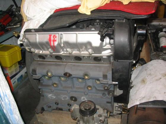 integrale 8V-Kat Motor