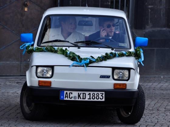 Das beste Hochzeitsauto!