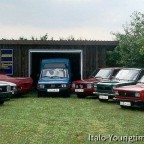 Fiat 127 - Versammlung zu Hause...