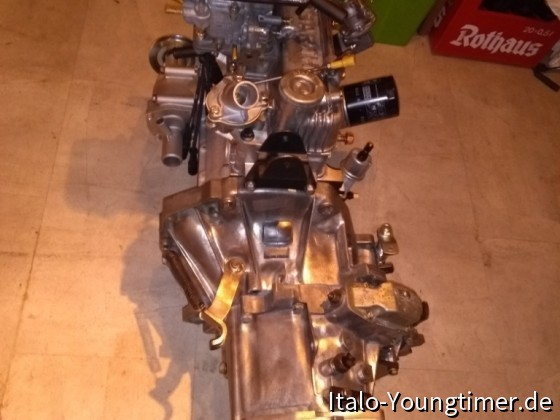 1050 70 HP Motor bereit zum Einbau