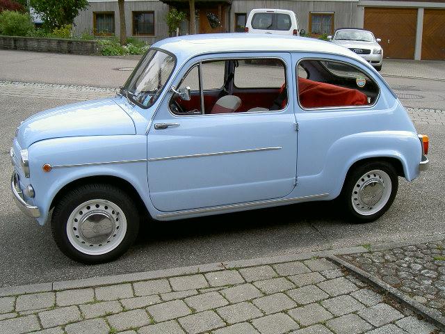 Fiat 600 D  BJ. 1963