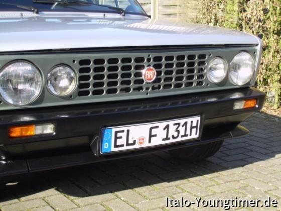 Fiat 131 Racing 2.0 Bj. 78 mit bearbeitetem Motor von Enzo