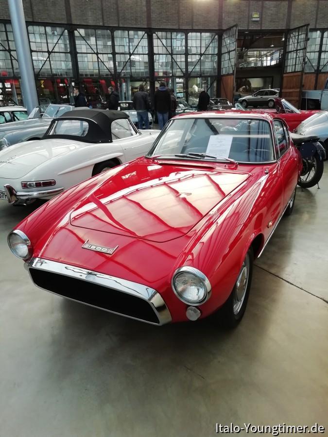 seltener Fiat Ghia 1500 GT von 1965
